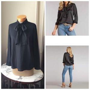 Lauren James Margo top in black S